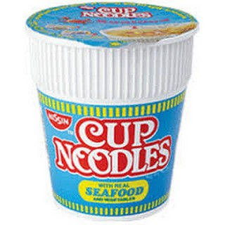 Amazon.com : Nissin Cup Noodles Seafood Noodle 74g×20 : Packaged ...